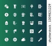 mixer icon set. collection of... | Shutterstock .eps vector #1309821229