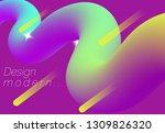 3d fluid geometric background....