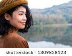 close up beauty asian woman...   Shutterstock . vector #1309828123