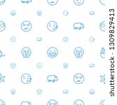 comic icons pattern seamless... | Shutterstock .eps vector #1309829413