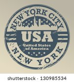 grunge rubber stamp with name... | Shutterstock .eps vector #130985534