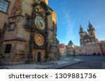 Prague Old Town Square  Sunrise ...