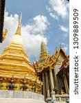 view of the grand palace and...   Shutterstock . vector #1309889509