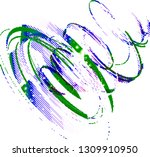 abstract vector background dot... | Shutterstock .eps vector #1309910950
