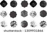 big collection of grunge post... | Shutterstock .eps vector #1309931866