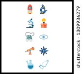 10 discovery icon. vector...   Shutterstock .eps vector #1309936279