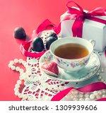 valentine's day  romantic... | Shutterstock . vector #1309939606