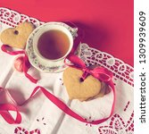valentine's day  romantic... | Shutterstock . vector #1309939609