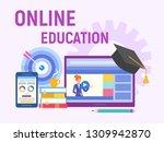 web education  online training  ... | Shutterstock .eps vector #1309942870