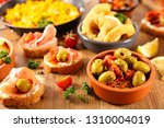 antipasto and tapas | Shutterstock . vector #1310004019
