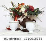 composition  still life with... | Shutterstock . vector #1310015386