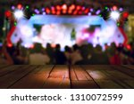 blurred concert lighting and... | Shutterstock . vector #1310072599