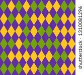 mardi gras seamless pattern... | Shutterstock .eps vector #1310081296