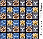 abstract pattern. mosaic art... | Shutterstock . vector #1310089696