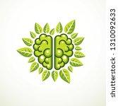 tree brain concept  the wisdom... | Shutterstock .eps vector #1310092633