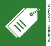 vector tag icon  | Shutterstock .eps vector #1310099350