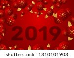 chinese new year traditional... | Shutterstock .eps vector #1310101903
