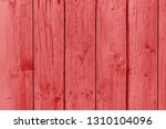 red wood plank texture abstract ... | Shutterstock . vector #1310104096