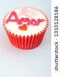 still life saint valentine... | Shutterstock . vector #1310128186