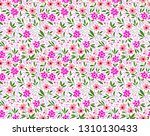 cute floral pattern in the... | Shutterstock .eps vector #1310130433