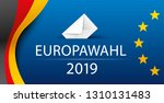 european elections 2019.... | Shutterstock .eps vector #1310131483