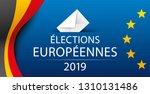 european elections 2019....   Shutterstock .eps vector #1310131486