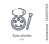eyes shades makeup  icon from...   Shutterstock .eps vector #1310157319