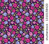 cute floral pattern in the... | Shutterstock .eps vector #1310158420