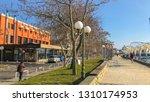 pomorie  bulgaria   februari 10 ... | Shutterstock . vector #1310174953