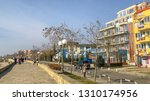 pomorie  bulgaria   februari 10 ... | Shutterstock . vector #1310174956