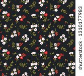 elegant floral pattern in small ... | Shutterstock .eps vector #1310177983