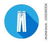 classic trousers icon with long ...