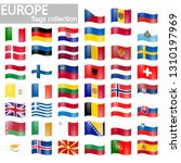 collection of flags from all... | Shutterstock .eps vector #1310197969