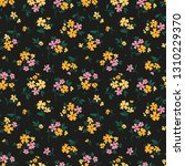 elegant floral pattern in small ... | Shutterstock .eps vector #1310229370