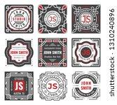 set of nine stylish line... | Shutterstock .eps vector #1310240896