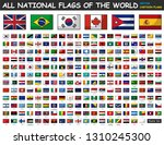all national flags of the world ... | Shutterstock .eps vector #1310245300
