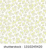 vintage floral background.... | Shutterstock .eps vector #1310245420
