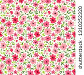 elegant floral pattern in small ... | Shutterstock .eps vector #1310252320