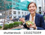 lunch salad take out bowl... | Shutterstock . vector #1310270359