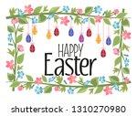 vector illustration of easter... | Shutterstock .eps vector #1310270980