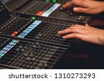 audio system for professionals. ... | Shutterstock . vector #1310273293