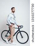 convenient way to travel. full... | Shutterstock . vector #1310277730