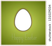 green greetings card with... | Shutterstock . vector #131029034
