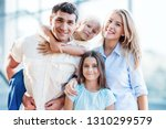 father  mother and children | Shutterstock . vector #1310299579