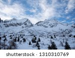 view of the mountains around... | Shutterstock . vector #1310310769