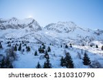 view of the mountains around... | Shutterstock . vector #1310310790