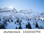 view of the mountains around... | Shutterstock . vector #1310310793