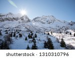 view of the mountains around... | Shutterstock . vector #1310310796