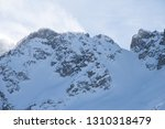 view of the mountains around... | Shutterstock . vector #1310318479