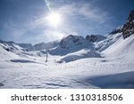 view of the mountains around... | Shutterstock . vector #1310318506